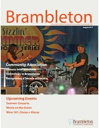 august2017newsletter by brambleton community association issuu