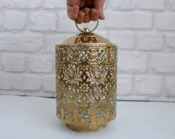 moroccan tea table stand moroccan candle etsy
