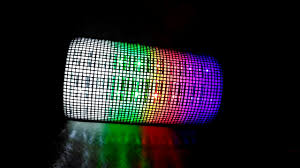 blackweb lighted bluetooth speaker review wireless bluetooth 3 0 speaker with colorful led light disc dancing