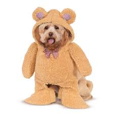 pet costume halloween walking teddy bear pet costume buycostumes com