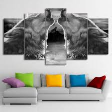 Posters Home Decor Online Get Cheap Black Wolf Poster Aliexpress Com Alibaba Group