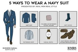Colorado How To Fold A Suit For Travel images 5 outfits one navy suit killer looks from classic menswear jpg