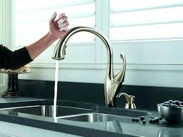 delta touch kitchen faucet troubleshooting no touch faucet kohler touch kitchen faucet faucet manual striking