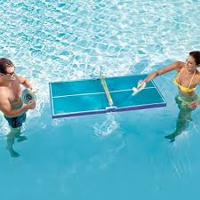 pool and ping pong table floating table tennis pool ping pong table