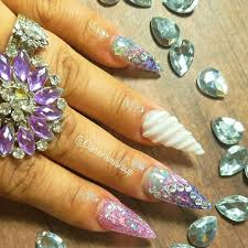 unicorn horn nails are the latest unicorn beauty trend self