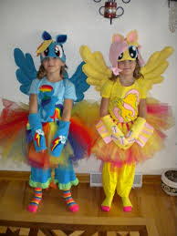 kids robot halloween costume rainbow dash and fluttershy from y little pony this years