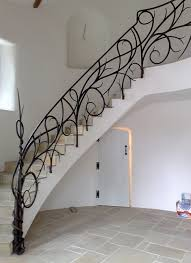 Custom Staircase Design Forged Iron Railings Custom Staircase Designs By Bushy Park
