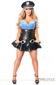 police halloween costumes police cop corset costume