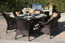Wicker Resin Patio Chairs Synthetic Wicker Patio Furniture Home Design Ideas
