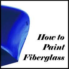 how to paint fiberglass feltmagnet