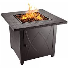 Char Broil Outdoor Patio Fireplace by Blue Rhino Endless Summer Outdoor Propane Gas Lava Rock Patio