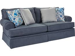 Quick Ship Sofas by Broyhill Express Emily Quick Ship Casual Sofa With Rolled Arms
