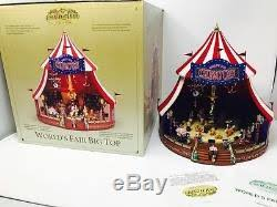 mr gold label worlds fair big top circus animated plays