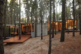 modern hacienda style guest house concrete homes designs for u