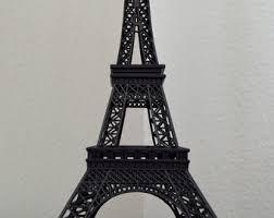 black eiffel tower etsy