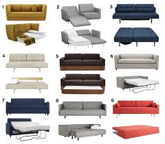 Sleeper Sofa Modern Design Modern Sofa Beds And Sleeper Sofas Your Guests Won T To Sleep
