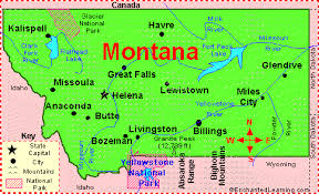montana maps montana facts map and state symbols enchantedlearning com