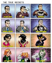 Batman Superman Meme - a bit of identity crisis seems to be going around batman v