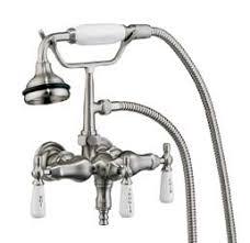Faucet Or Spigot Elegant Wallmount Leg Tub Faucets