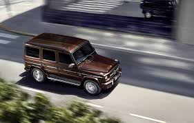 2016 mercedes benz g class benefits from new v 8 chassis upgrades
