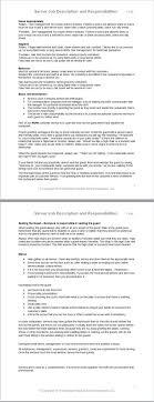 Best  Job Description Ideas On Pinterest Resume Skills - Dining room supervisor job description