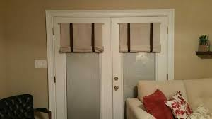 treatments design magnetic roman shades for french doors window