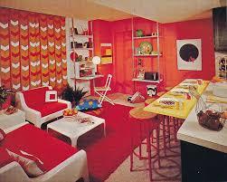 retro home interiors these zany interior design pictures prove that no decade was more