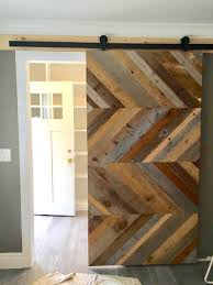 Salvaged Barn Doors by Driftwood Or Reclaimed Barn Door Custom Sliding Barn Door Modern