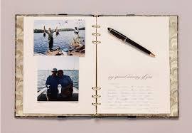 memory book inside inspiring bridal shower ideas