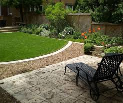 upscale landscaping designs as wells as small backyards photo