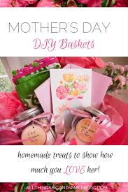 Mother S Day Basket Diy Mother U0027s Day Basket All Things Big And Small