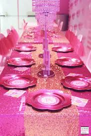 Barbie Dining Room Set Trend Alert The Barbie Dreamhouse Experience Birthday Party