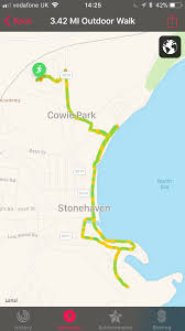 Map My Walk Route 7 Miles In Stonehaven Lorn Pearson Trains U2026