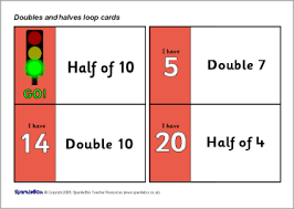 ks1 doubling and halving teaching activities and resources