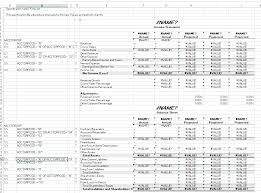 Template For Income Statement And Balance Sheet 2 On Spec Getting To The Sle Financial Statements