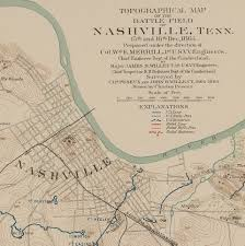 Map Of Nashville Tn Fort Negley Tennessee Council For Professional Archaeology