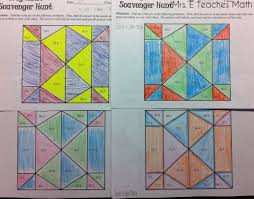 trig scavenger hunt mrs e teaches math