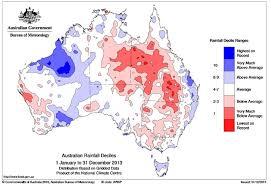 australian bureau meteorology bureau of meteorology rainfall map for 2013 abc australian