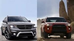 Dodge Journey Models - 2016 dodge journey vs 2015 toyota 4runner trd pro youtube
