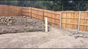 Curved Garden Wall by Vertical Sleepers Curved Retaining Wall U0026 Drainage Youtube