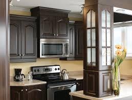cuisine armoire brune classique cuisitec