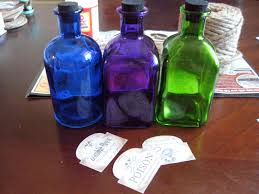 diy halloween potion bottles make something mondays