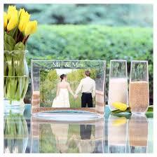 Sand Vases For Wedding Ceremony 3ct Mr U0026 Mrs Wedding Sand Ceremony Photo Vase Unity Set Target