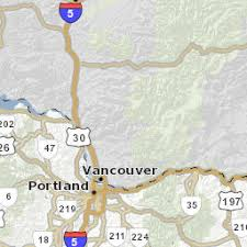 map of oregon freeways road weather conditions map tripcheck oregon traveler