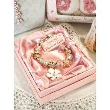 flower girl charm bracelet flower girl charm bracelet wedding gift accessory by molly browns