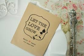 seed wedding favors bespoke wedding favors