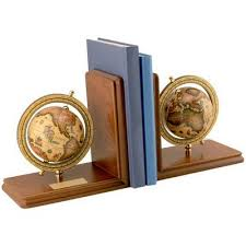 Engraved Bookends Personalized Globe Gifts