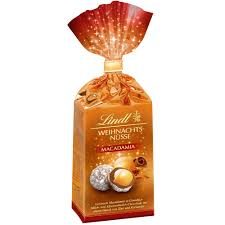 christmas nuts lindt christmas macadamia nuts 100g