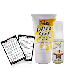 buy tattoo goo aftercare lotion healix gold and panthenol made in