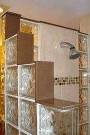 glass block designs for bathrooms glass block shower bench d d shower benches